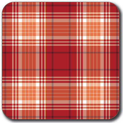 Tartan 4 Coaster<br>(Pack of 10)