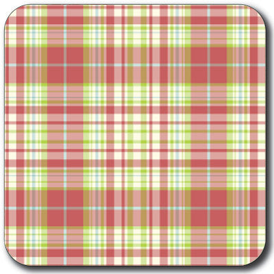 Tartan 15 Coaster<br>(Pack of 10)