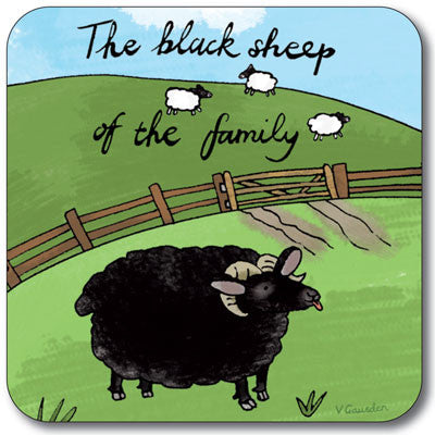 Black Sheep of Family Coaster<br>(Pack of 10)