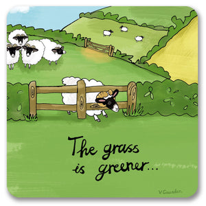 Grass is Greener  Coaster<br>(Pack of 10)
