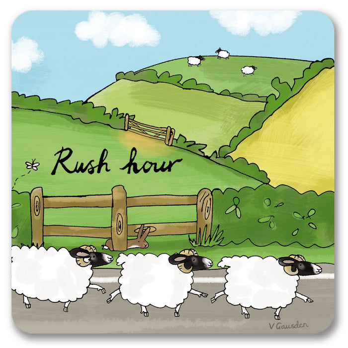 Rush Hour  Coaster<br>(Pack of 10)