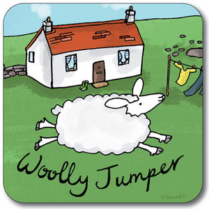 Woolly Jumper  Coaster<br>(Pack of 10)