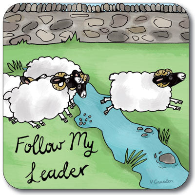 Follow My Leader  Coaster<br>(Pack of 10)