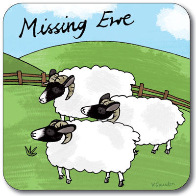 Missing Ewe  Coaster<br>(Pack of 10)