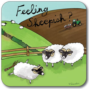 Feeling Sheepish  Coaster<br>(Pack of 10)