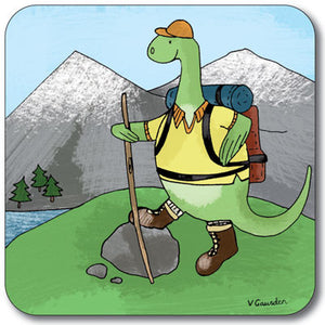 Nessie Hiking  Coaster<br>(Pack of 10)