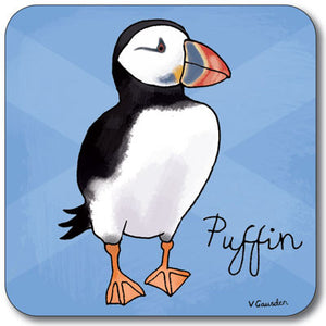 Puffin  Coaster<br>(Pack of 10)