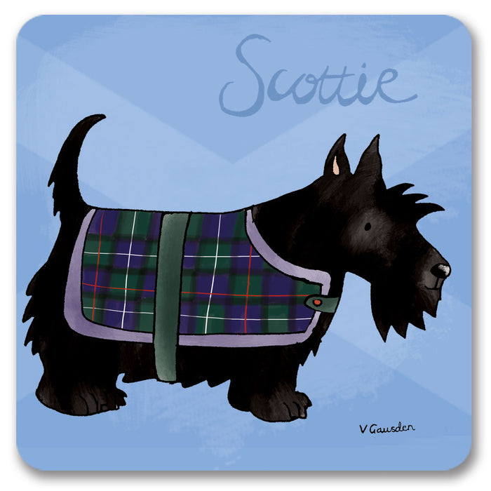 Scottie  Coaster<br>(Pack of 10)