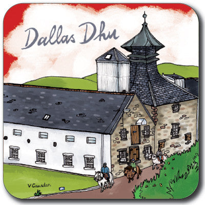 Dallas Dhu Coaster<br>(Pack of 10)
