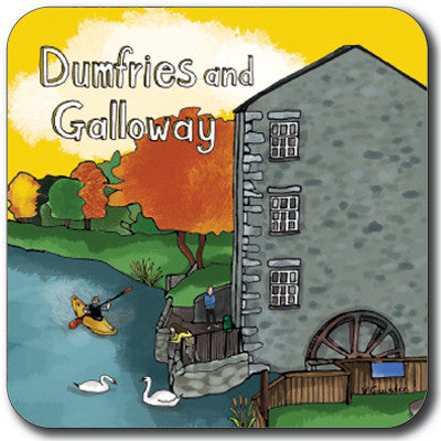 Dumfries and Galloway Coaster<br>(Pack of 10)