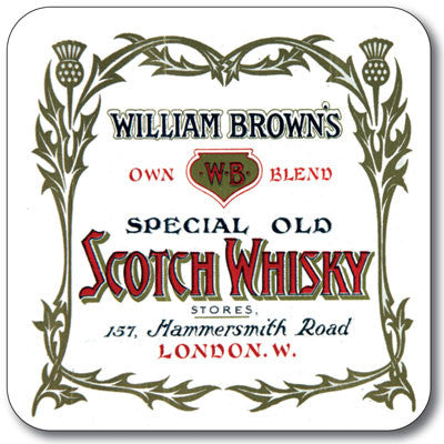 William Brown's Coaster<br>(Pack of 10)
