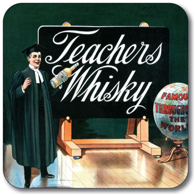 Teachers Whisky Coaster<br>(Pack of 10)