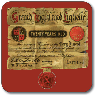 Grand Highland  Coaster<br>(Pack of 10)