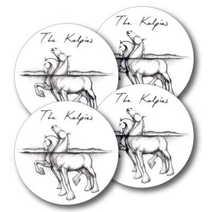 Kelpies Sketch Coaster Set of 4<br>(Pack of 4)