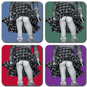 Highland Swing Colour Coaster set of 4<br>(Pack of 4)