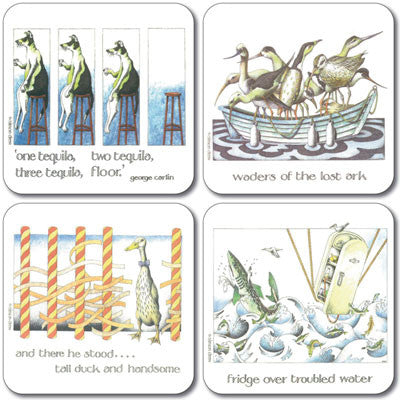 Simon Drew - Coaster set of 4<br>(Pack of 4)