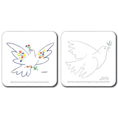 La Colombe / Festival de la Jeunesse Coaster Set of 2<br>(Pack of 4)