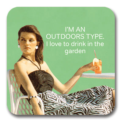 Outdoors Type Coaster<br>(Pack of 10)