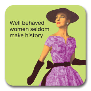Well Behaved Women Coaster<br>(Pack of 10)