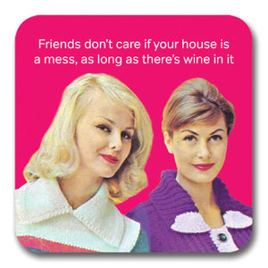 Friends Don't Care Coaster<br>(Pack of 10)