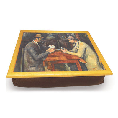 The Card Players Cushion Tray<br>(Pack of 2)