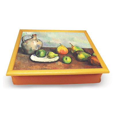 Still Life, Jug and Fruits Cushion Tray<br>(Pack of 2)