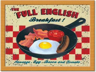 Full English  Cushion Tray<br>(Pack of 2)
