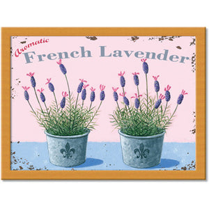 French Lavender  Cushion Tray<br>(Pack of 2)
