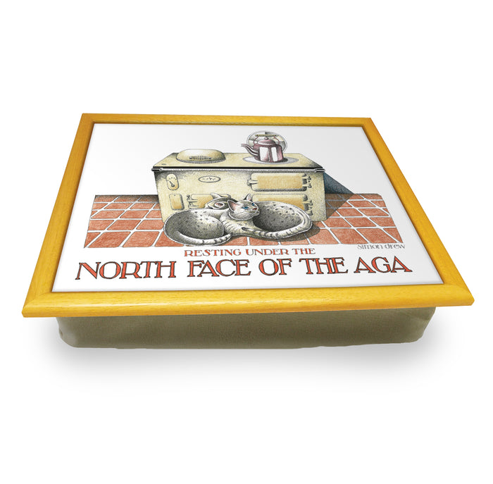 North face of the aga Cushion Tray<br>(Pack of 2)