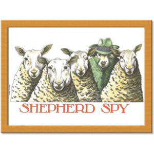 Shepherd Spy  Cushion Tray<br>(Pack of 2)