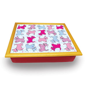 Scottie Dog  Repeat Cushion Tray<br>(Pack of 2)