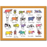 Cows  Cushion Tray<br>(Pack of 2)