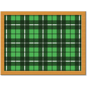 Tartan 11 Cushion Tray<br>(Pack of 2)