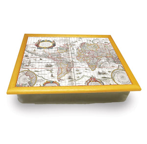 Map of the World Cushion Tray<br>(Pack of 2)