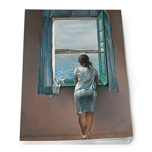 Girl at the Window, 1925 Notepad<br>(Pack of 10)