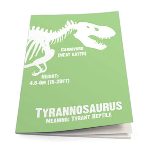 Tyrannosaurus Exercise Book<br>(Pack of 10)