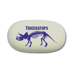 Triceratops Eraser<br>(Pack of 10)