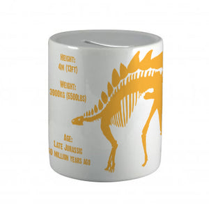 Stegosaurus Ceramic Money Box<br>(Pack of 6)