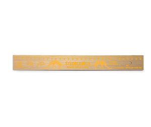 Stegosaurus Wooden Ruler<br>(Pack of 10)