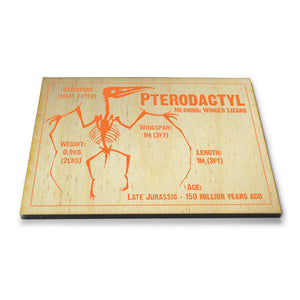 Pterodactyl Wooden Postcard<br>(Pack of 10)