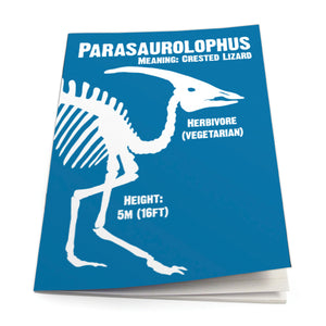 Parasaurolophus Exercise Book<br>(Pack of 10)