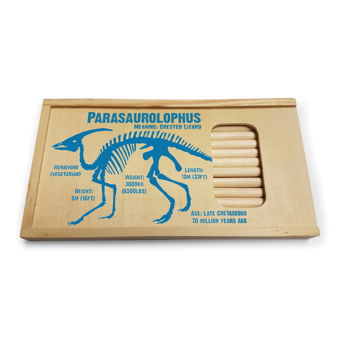 Parasaurolophus Pencil Sets<br>(Pack of 5)