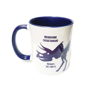 Triceratops Mug<br>(Pack of 6)