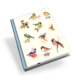 Mixed Birds 1 - Hardback Journal<br>(Pack of 5)