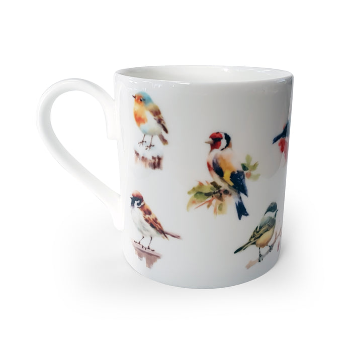 Mixed Birds 1 - Bone China Mug<br>(Pack of 6)