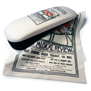 Musical Review Glasses Case and Lens Cloth<br>(Pack of 5)
