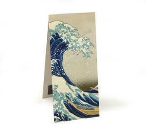 The Great Wave off Kanagawa Magnetic Bookmark<br>(Pack of 20)