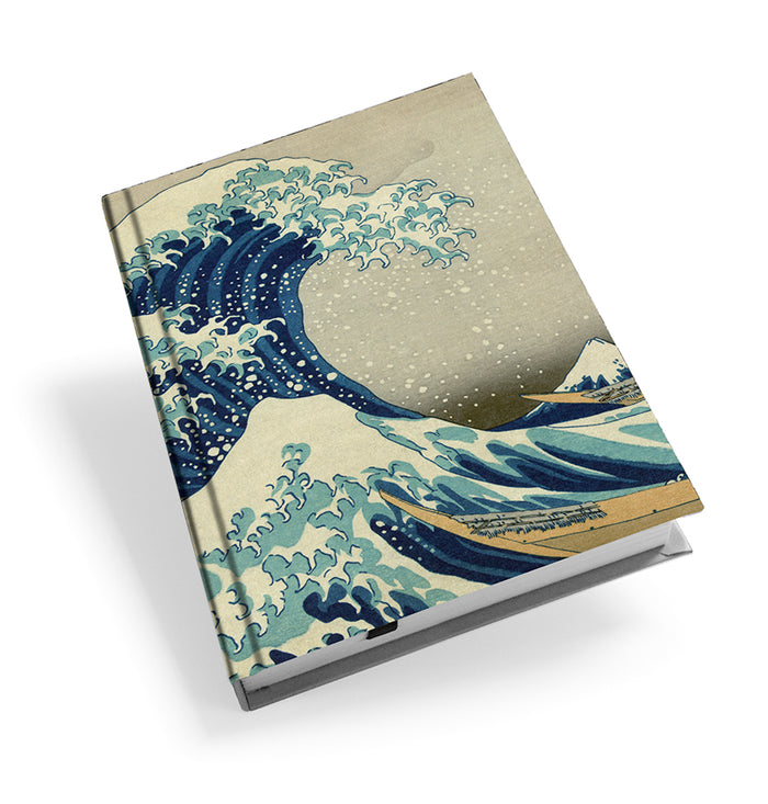 The Great Wave off Kanagawa Hardback Journal<br>(Pack of 5)