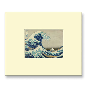 The Great Wave off Kanagawa - Mounted print (Pack of 5)