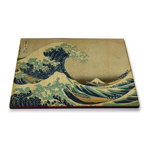 Japanese Art Wooden Fridge Magnet<br>(Pack of 10)